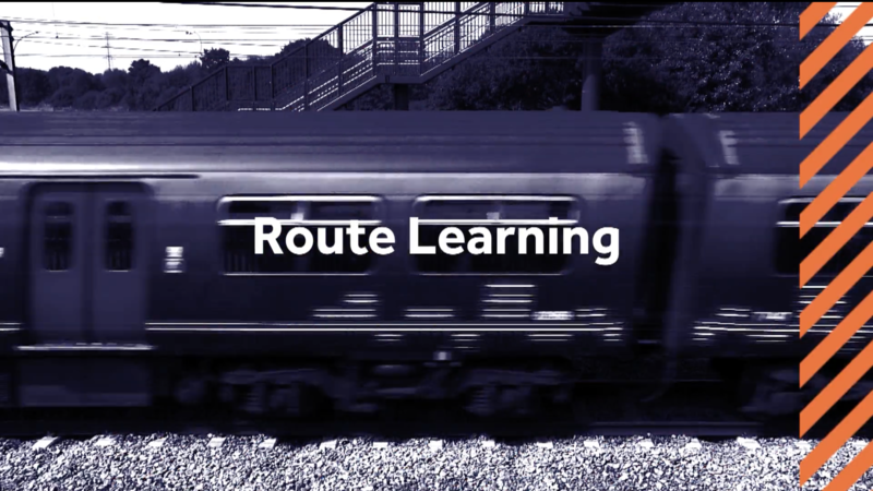 ROUTE LEARNING SHOW REEL